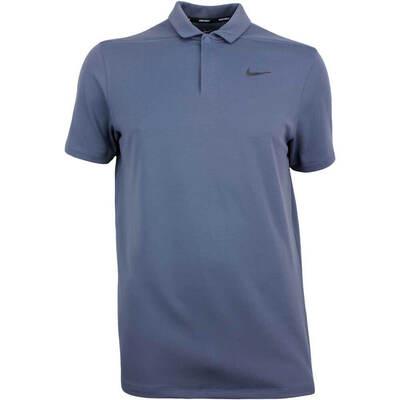 Nike Golf Shirt Aeroreact Victory Thunder Blue SS18