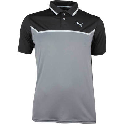 Puma Golf Shirt Bonded Tech Black SS18