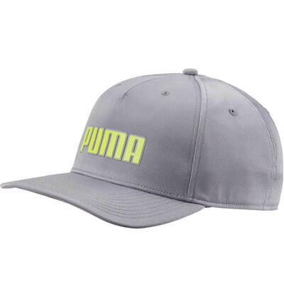 Puma Golf Cap Go Time Snapback Quarry SS18