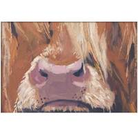 """Image of """"Is There Anybody There?"""" Highland Cow - Signed Limited Edition Print"""