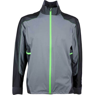 Galvin Green Waterproof Golf Jacket ALON C KNIT Iron Grey 2018