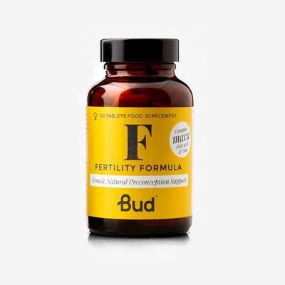 Bud Nutrition Female Fertility Formula 60 Tablets