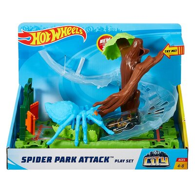 Hot Wheels Spider Park Attack Set