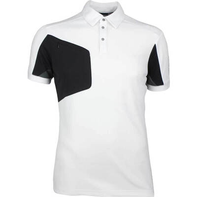 Galvin Green Golf Shirt MANNIX White Black SS18