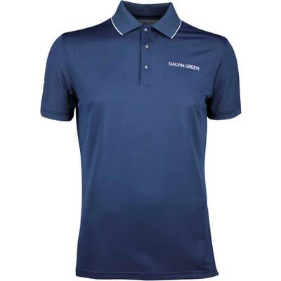Galvin Green Golf Shirt MARTY Tour Navy SS20