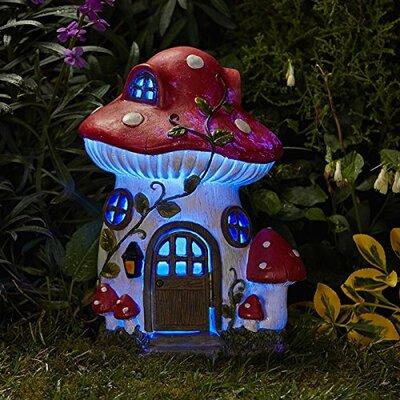 Mush-Room Solar Fairy House
