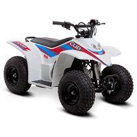 SMC Cub50 50cc White Kids Quad Bike