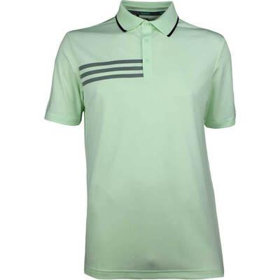 Adidas Golf Shirt 3 Stripes Polo Aero Green SS18