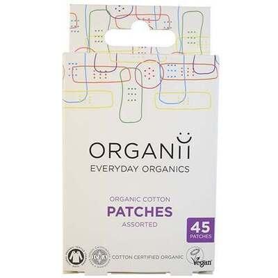 Organii Cotton Patches Mixed Assortment 45 Pieces