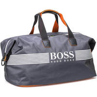 Hugo Boss Travel Bag - Pixel ZT Holdall - Dark Grey PF18