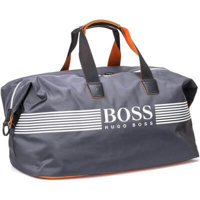 Hugo Boss Travel Bag Pixel ZT Holdall Dark Grey PF18