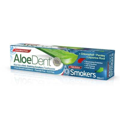 AloeDent Triple Action Smokers Toothpaste 100ml