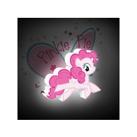 My Little Pony Pinkie Pie 3D Deco Wall Light / Night Light