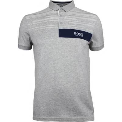 Hugo Boss Golf Shirt Paddy MK 1 Grey Melange FA18
