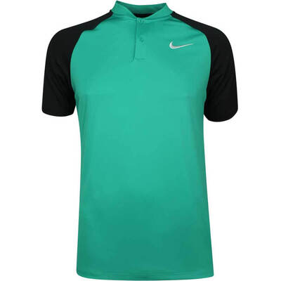 Nike Golf Shirt NK Dry Momentum Blade Neptune Green AW18