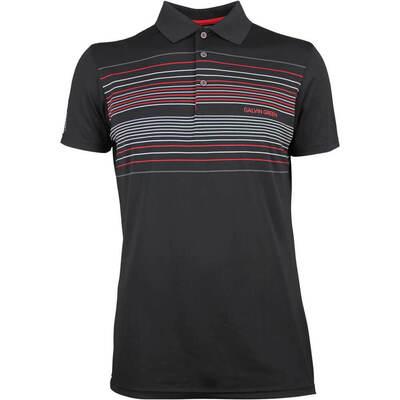 Galvin Green Golf Shirt Mateo Black AW18