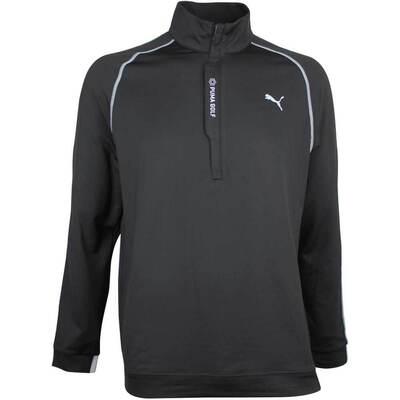 Puma Golf Pullover PWRWARM QZ Black AW18