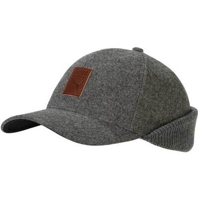 Puma Golf Hat Hybrid Flip Cap Medium Grey AW18