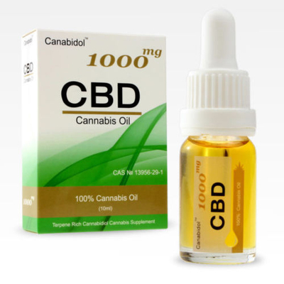 CBD 1000mg Oil Dropper (10ml)
