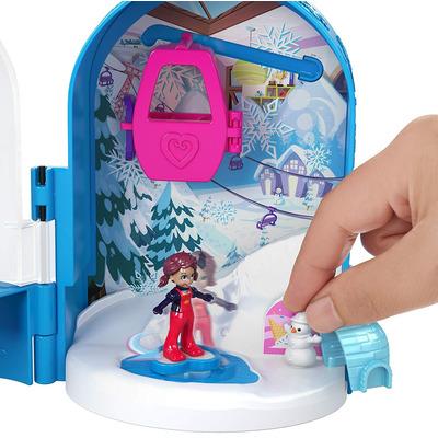 Polly Pocket Pocket World Snow Secret Compact Play Set