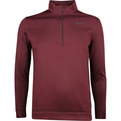 Nike Golf Pullover NK Therma Repel HZ Burgundy Crush AW18