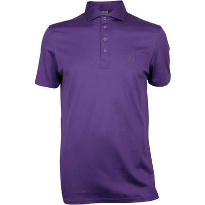 GFORE Golf Shirt Essential Polo Wisteria AW18
