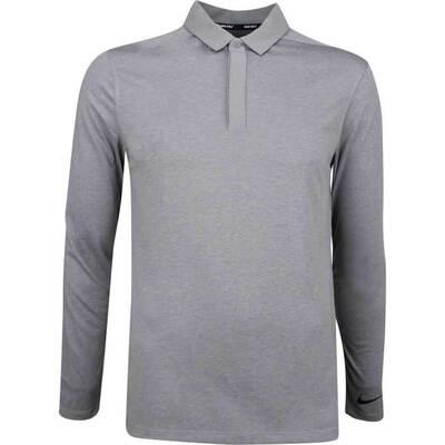 Nike Golf Shirt NK Dry LS Polo Gunsmoke AW18