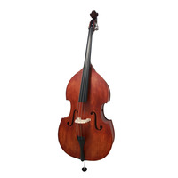 Professional Grade 3/4 Double Bass Solid Wood Top