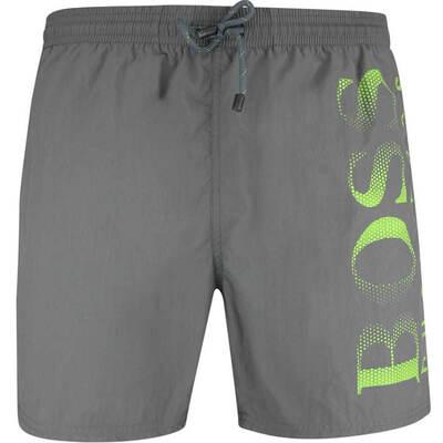 BOSS Swim Shorts Octopus Dark Grey SP19
