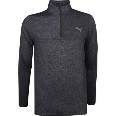 PUMA Golf Pullover Evoknit QZ Black SS19