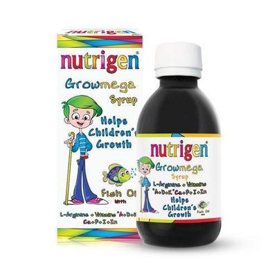 Nutrigen Childrens Growmega Fish Oil Syrup 200ml