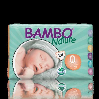 Bambo Nature Premature Nappies - Size 0
