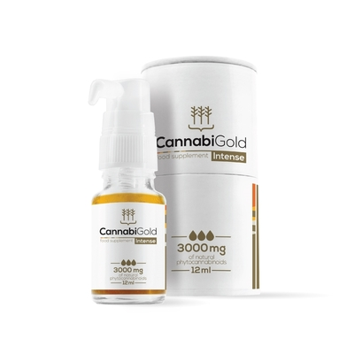 Cannabigold Intense 30% 3000mg CBD Oil 12ml