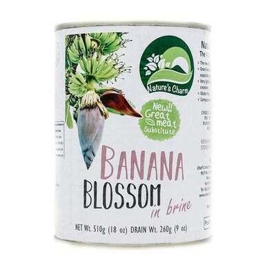 Natures Charm Banana Blossom In Brine 510g