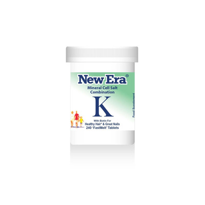 New Era Combination K - For Healthy Hair & Great Nails 240 Tablets