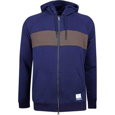 PUMA Golf Jacket Play Loose Onshore Hoodie Peacoat LE SS19