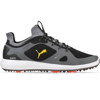 PUMA Golf Shoes Ignite PWRADAPT Black Yellow SS19