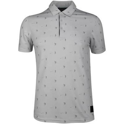 Adidas Golf Shirt Adicross Pique Polo Grey Two SS19