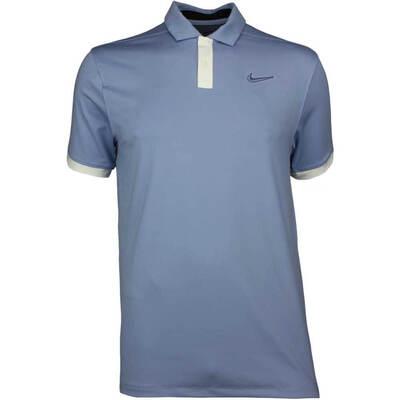 Nike Golf Shirt Vapor Solid Indigo Fog SS19