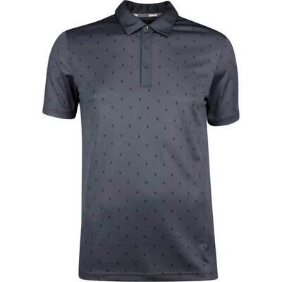 Adidas Golf Shirt Core Printed Polo Carbon SS19