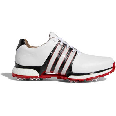 adidas Golf Shoes Tour360 XT Boost White Red AW19