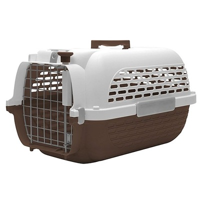Dogit Voyageur Dog Carrier- Brown/White