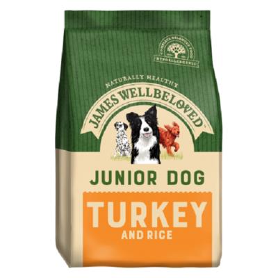 James Wellbeloved Junior Turkey & Rice Dog Food