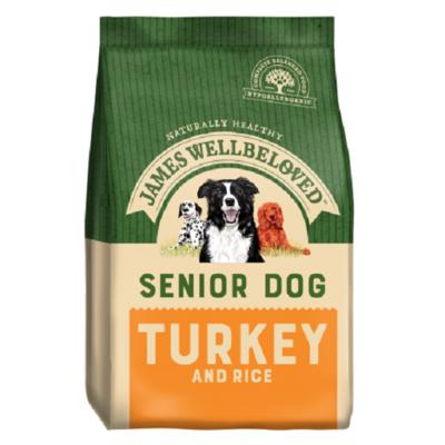 James Wellbeloved Senior Turkey & Rice Dog Food
