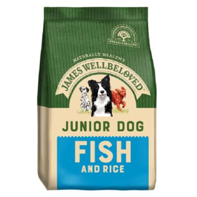 James Wellbeloved Junior Fish & Rice Dog Food