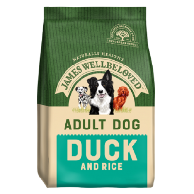 James Wellbeloved Adult Duck & Rice Dog Food