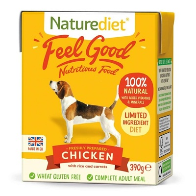 Naturediet Feel Good Nutritious 390g Dog Food