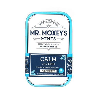 Mr Moxey's CBD 300mg Artisan Mints - 60 Mints