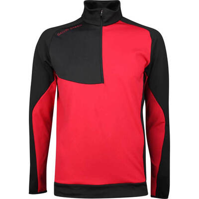 Galvin Green Golf Pullover Deon Insula Red SS19