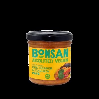 Bonsan Organic Red Pepper & Cashew Pate 130g